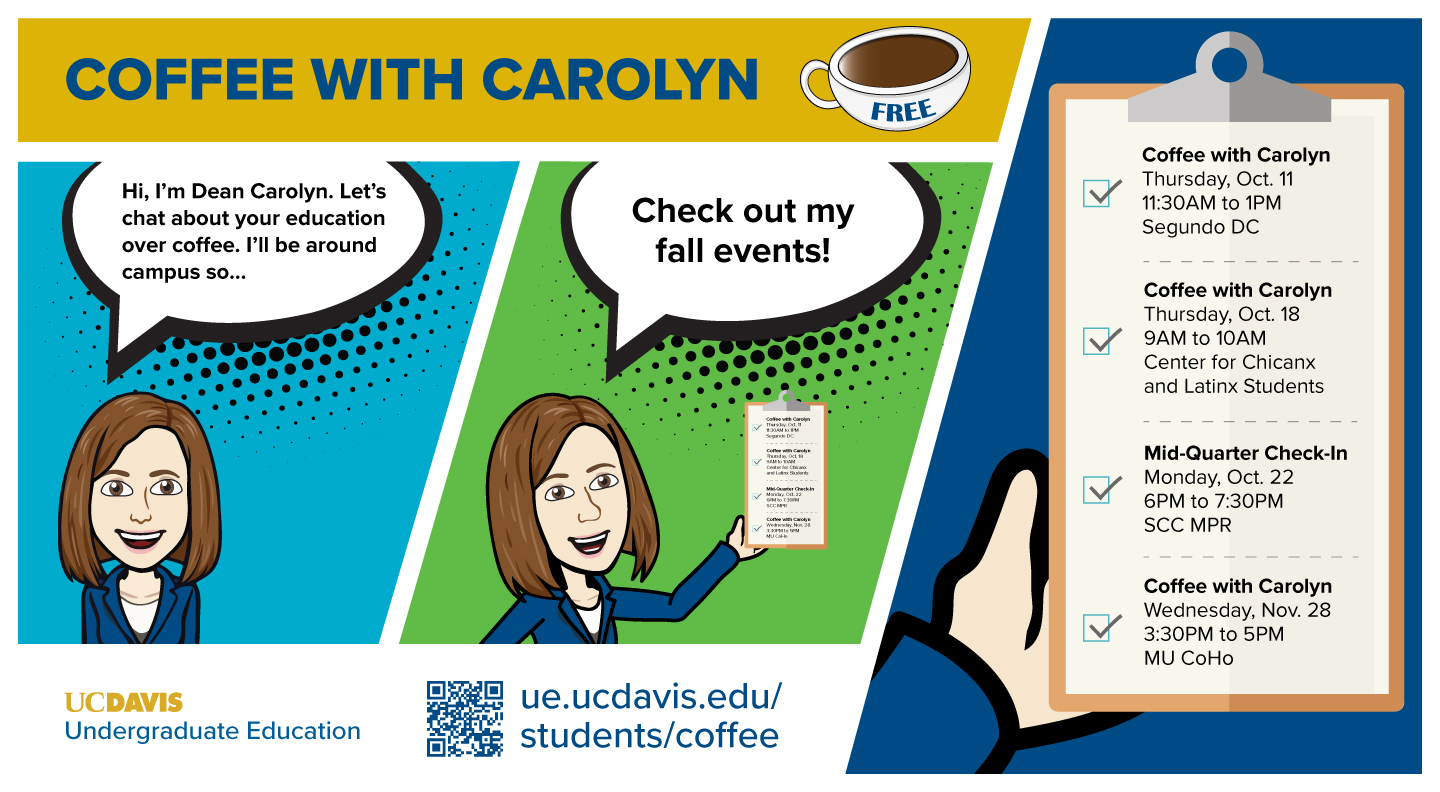 coffee with carolyn flyer