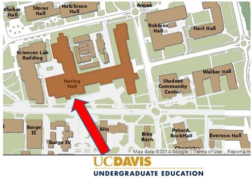 Haring Hall Map